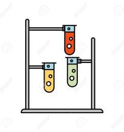 laboratory tube test with burner base vector illustration design stock vector 83835439 [ 1300 x 1300 Pixel ]