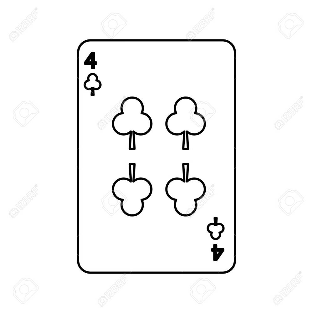 medium resolution of poker playing club card casino gambling icon vector illustration stock vector 90170495