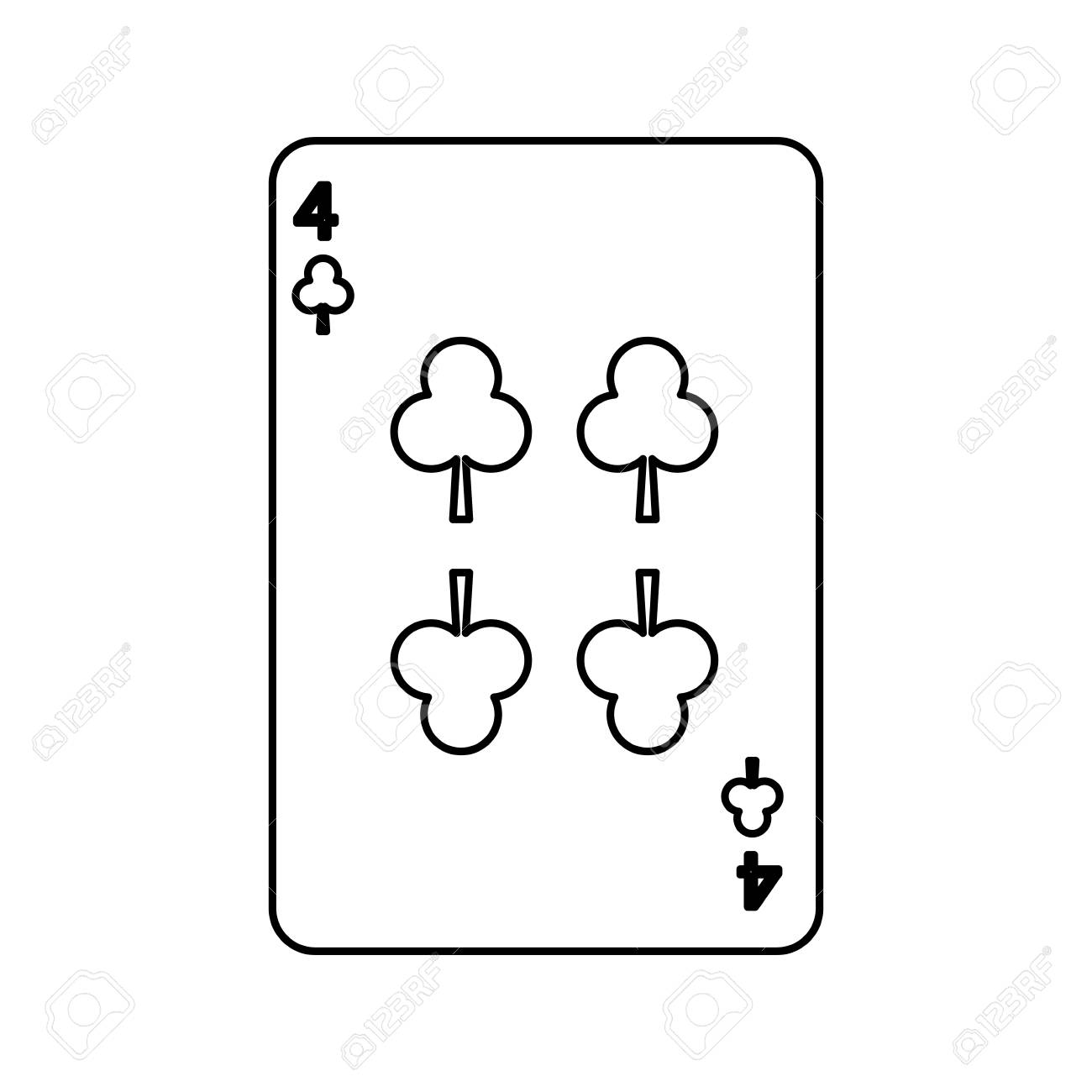 hight resolution of poker playing club card casino gambling icon vector illustration stock vector 90170495