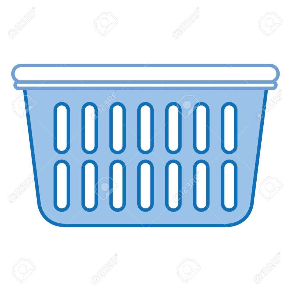 medium resolution of plastic basket laundry icon vector illustration design stock vector 90402704