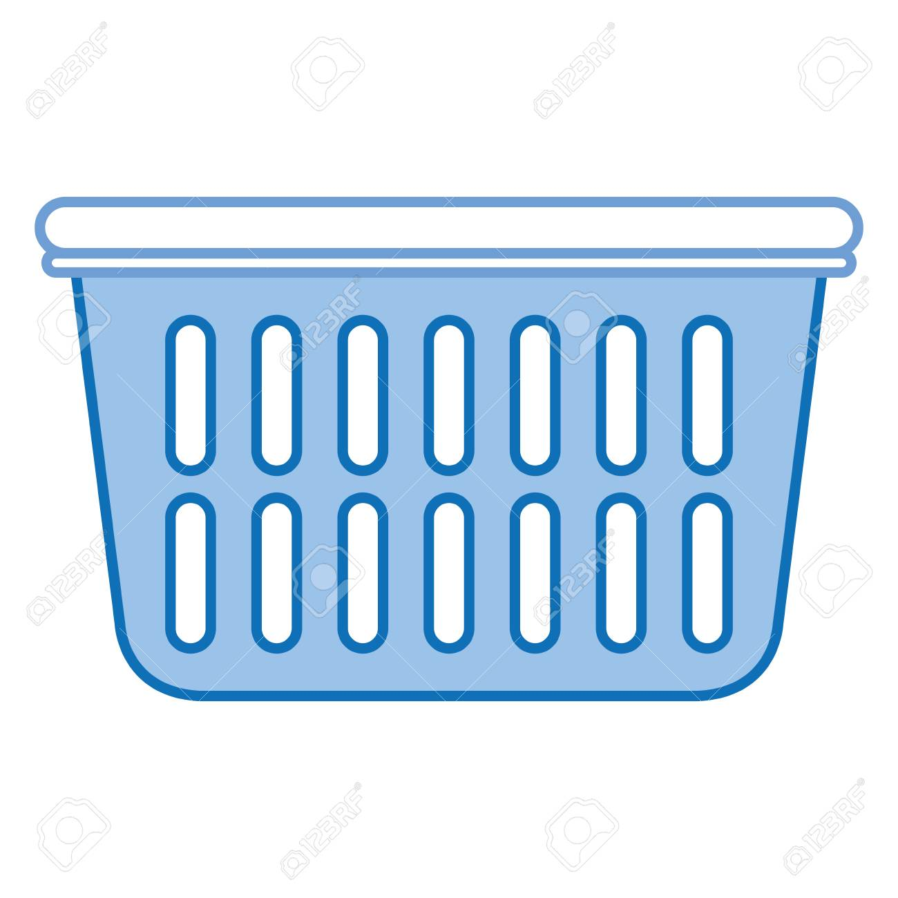 hight resolution of plastic basket laundry icon vector illustration design stock vector 90402704