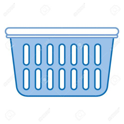 small resolution of plastic basket laundry icon vector illustration design stock vector 90402704