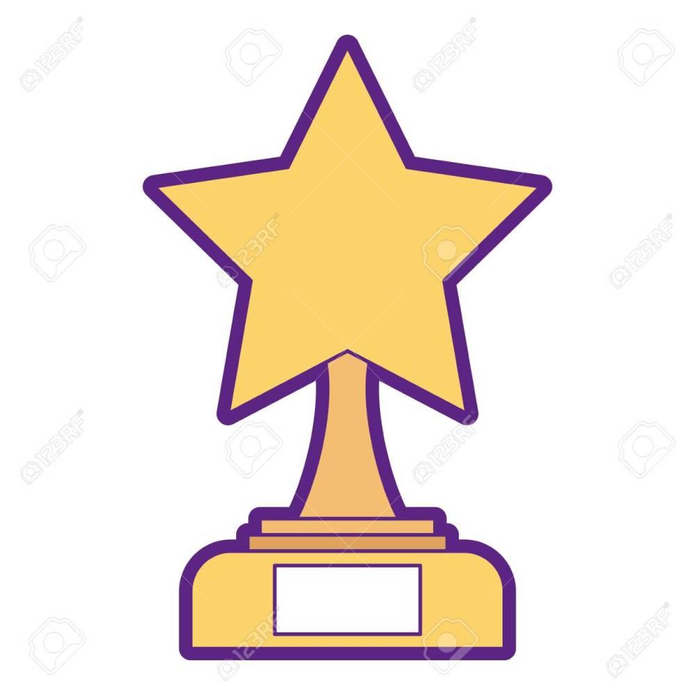 medium resolution of star trophy winner icon illustration design stock vector 91870337