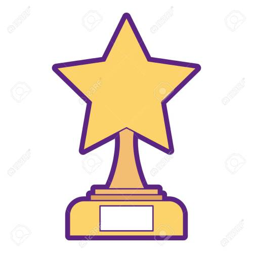 small resolution of star trophy winner icon illustration design stock vector 91870337