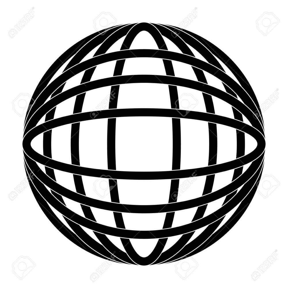 medium resolution of earth globe diagram icon image vector illustration design black and white stock vector 92184818