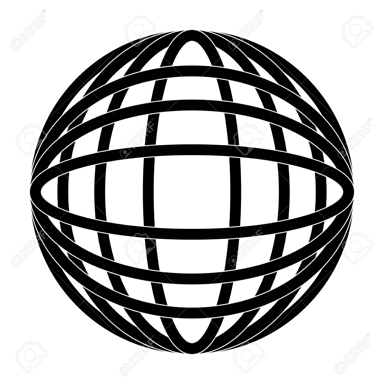 hight resolution of earth globe diagram icon image vector illustration design black and white stock vector 92184818