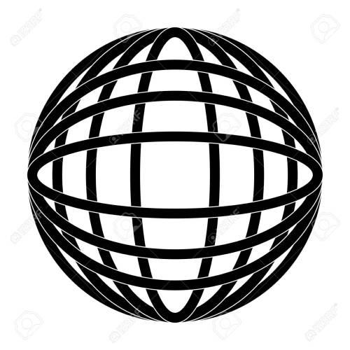 small resolution of earth globe diagram icon image vector illustration design black and white stock vector 92184818