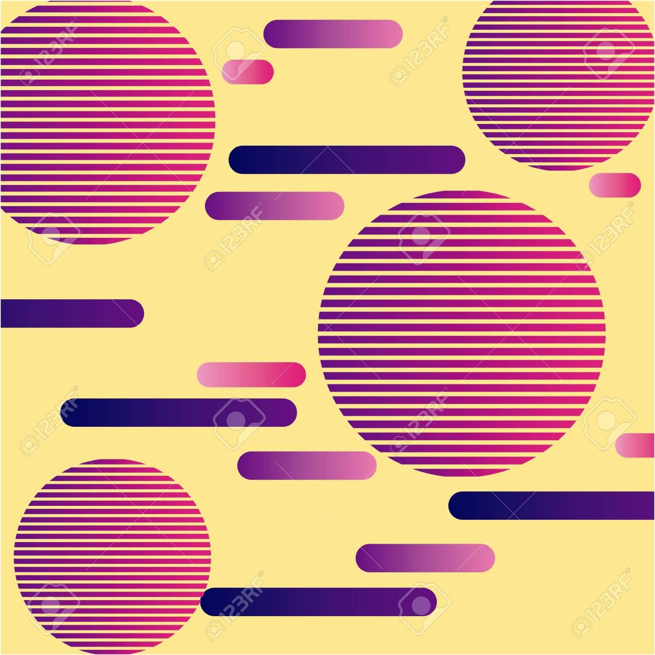 geometric seamless pattern trendy