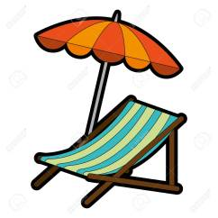 Beach Chair And Umbrella Clipart Shoprider Power With Vector Illustration Design Royalty Free Stock 93727646