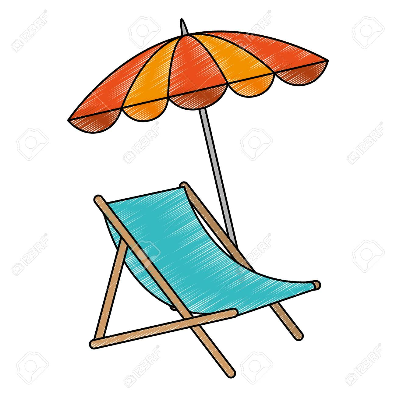 beach chair and umbrella clipart leap by steelcase with vector illustration design royalty free stock 93724965
