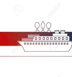 container ship shipping at the port vector illustration stock vector 114727914 [ 1300 x 781 Pixel ]