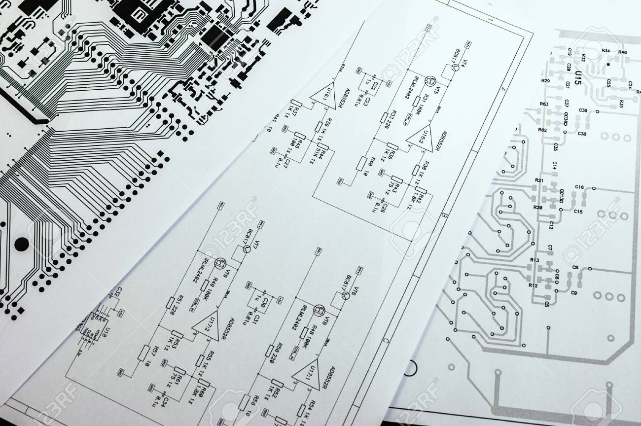 hight resolution of schematic diagram project of electronic circuit stock photo 54527254