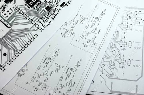 small resolution of schematic diagram project of electronic circuit stock photo 54527254