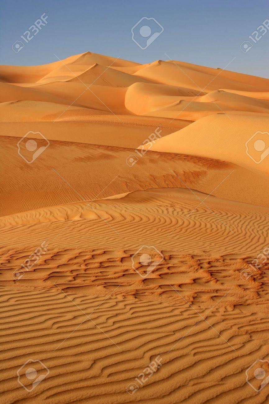 Le Plus Grand Désert Du Monde : grand, désert, monde, Modèles, Abstraits, Dunes, Khali, Quartier, Vide., Chevauchant, Oman,, L'Arabie, Saoudite,, Yémen,, C'est, Grand, Désert, Sable, Monde., Banque