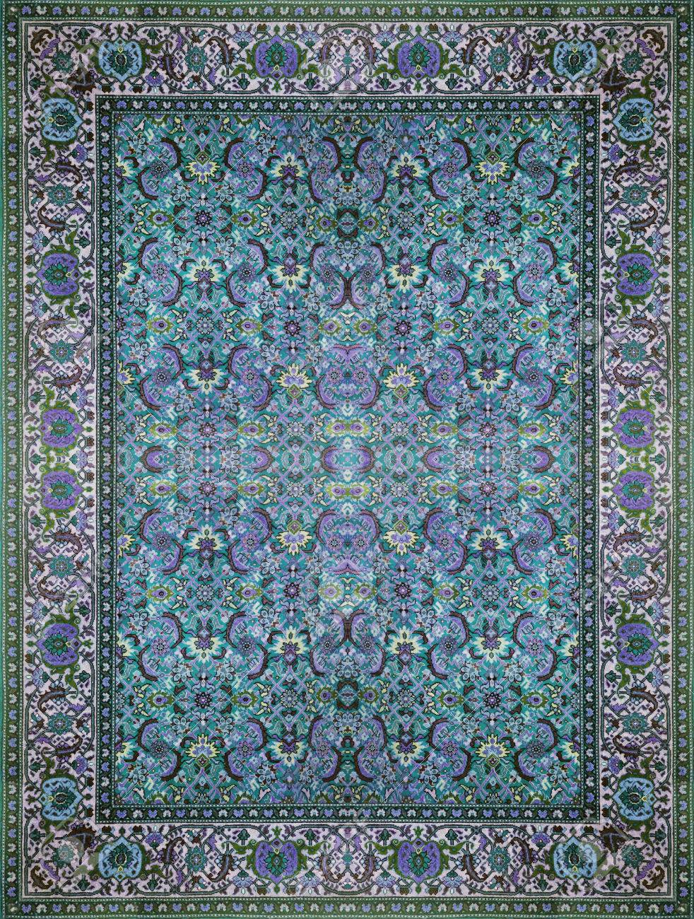 Blue Carpet Texture : carpet, texture, Persian, Carpet, Texture,, Abstract, Ornament., Round, Mandala, Pattern,.., Stock, Photo,, Picture, Royalty, Image., Image, 72112137.