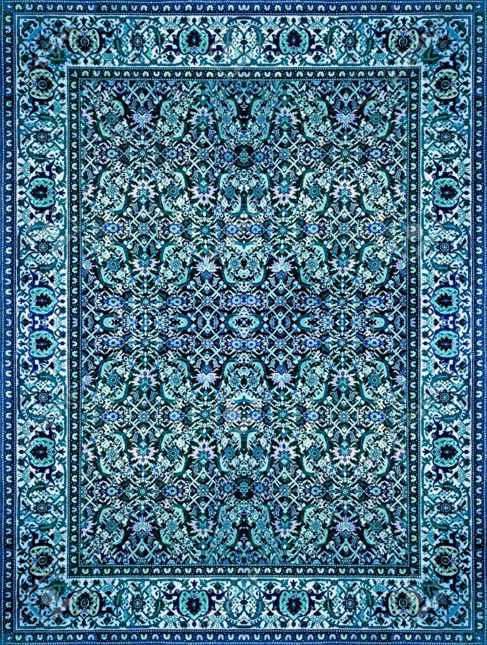 Blue Carpet Texture : carpet, texture, Persian, Carpet, Texture,, Abstract, Ornament., Round, Mandala, Pattern,.., Stock, Photo,, Picture, Royalty, Image., Image, 72112144.