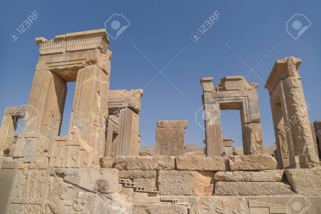 Best Kitchen Gallery: Ruins Gate Of Persepolis Unesco World Heritage Sites Ancient of Ancient Persian Architecture on rachelxblog.com