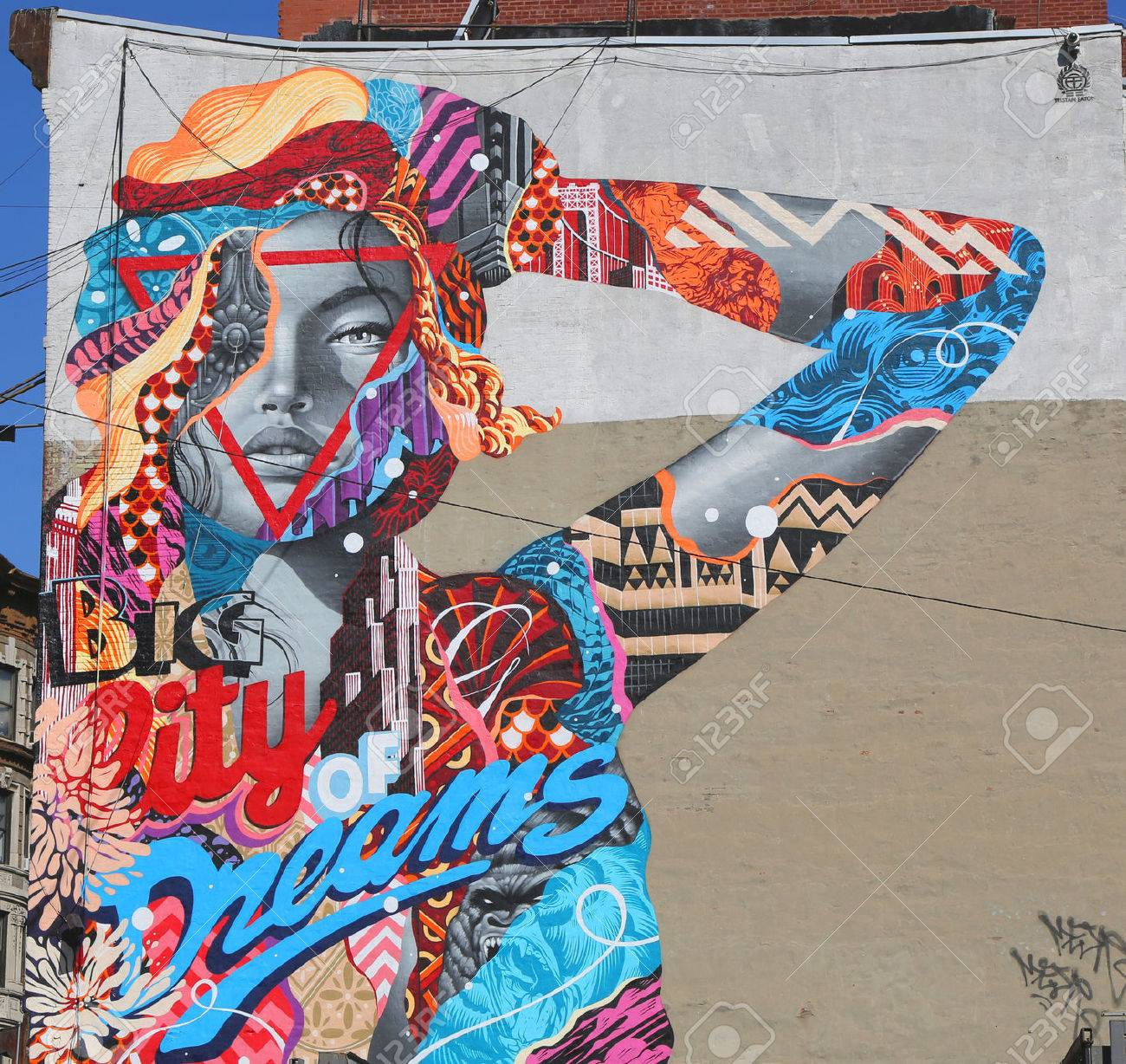 Offers one of the widest selection of digital slr's, lenses, digital backs for. New York May 14 2015 Mural Art City Of Dreams By Tristan Eaton In Little Italy Stock Photo Picture And Royalty Free Image Image 39885904