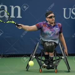 Wheelchair Quad What Is A Rocking Chair Bus Driver New York September 7 2017 Tennis Player Dylan Stock Alcott Of Australia In