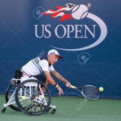 Wheelchair Quad Chair Covers Montreal New York September 7 2017 Tennis Player Andrew Lapthorne Of Great Britain