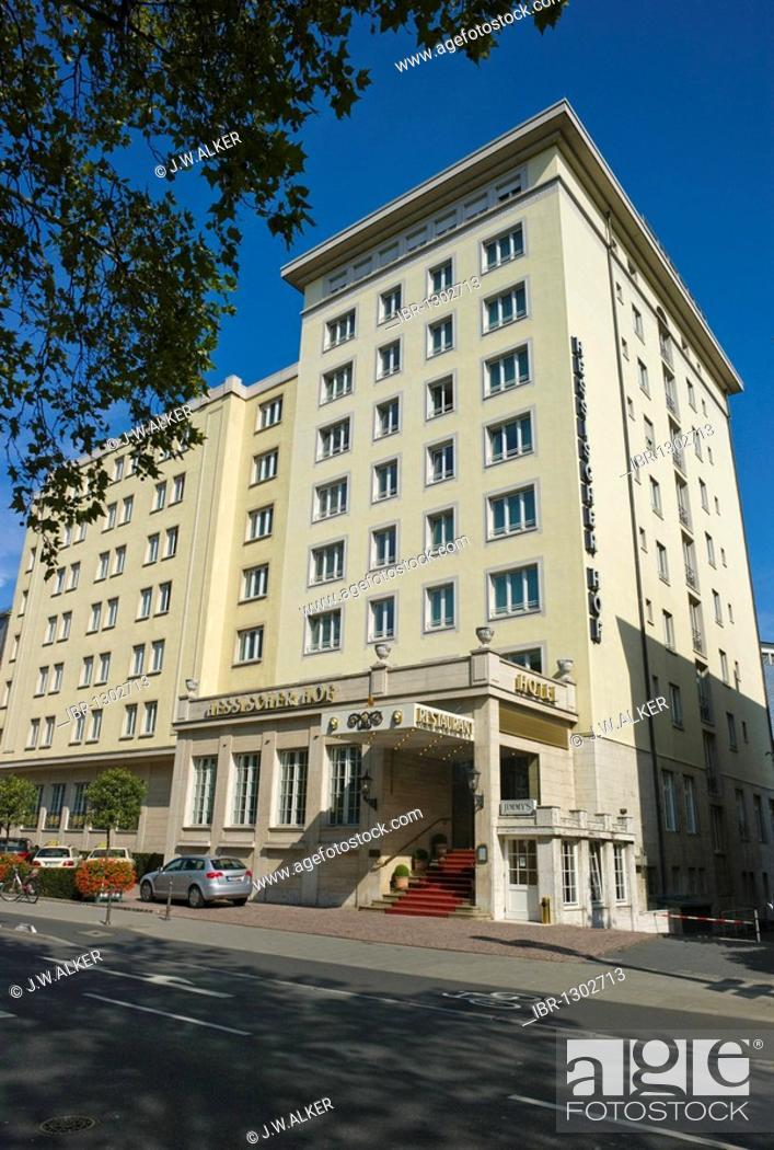 Hessischer Hof Five Star Superior Luxury Hotel Frankfurt