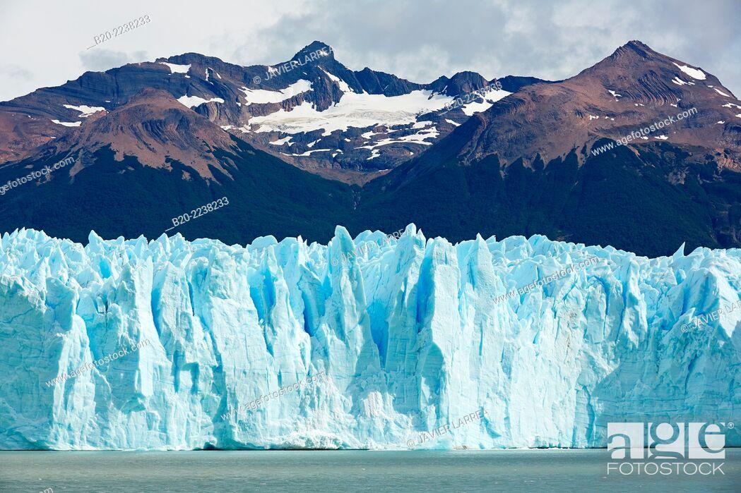 stock photo perito moreno glacier los glaciares national park argentino lake near el calafate santa cruz province patagonia argentina