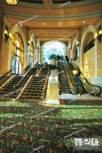 Escalator,Stair,Bellagio Hotel,Las Vegas,Nevada,Usa, Stock ...