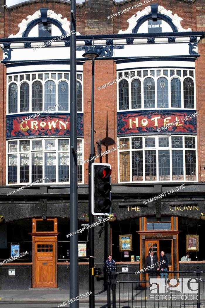 United Kingdom Liverpool Lime Street Crown Hotel Pub