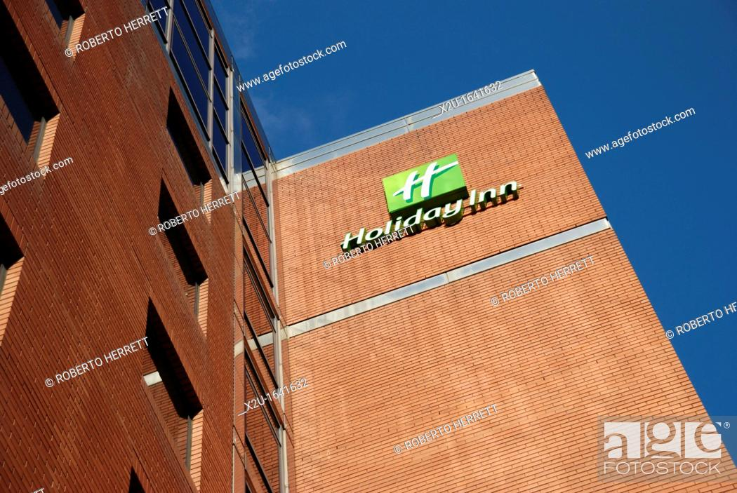 The Holiday Inn Hotel In Kings Cross Road London England