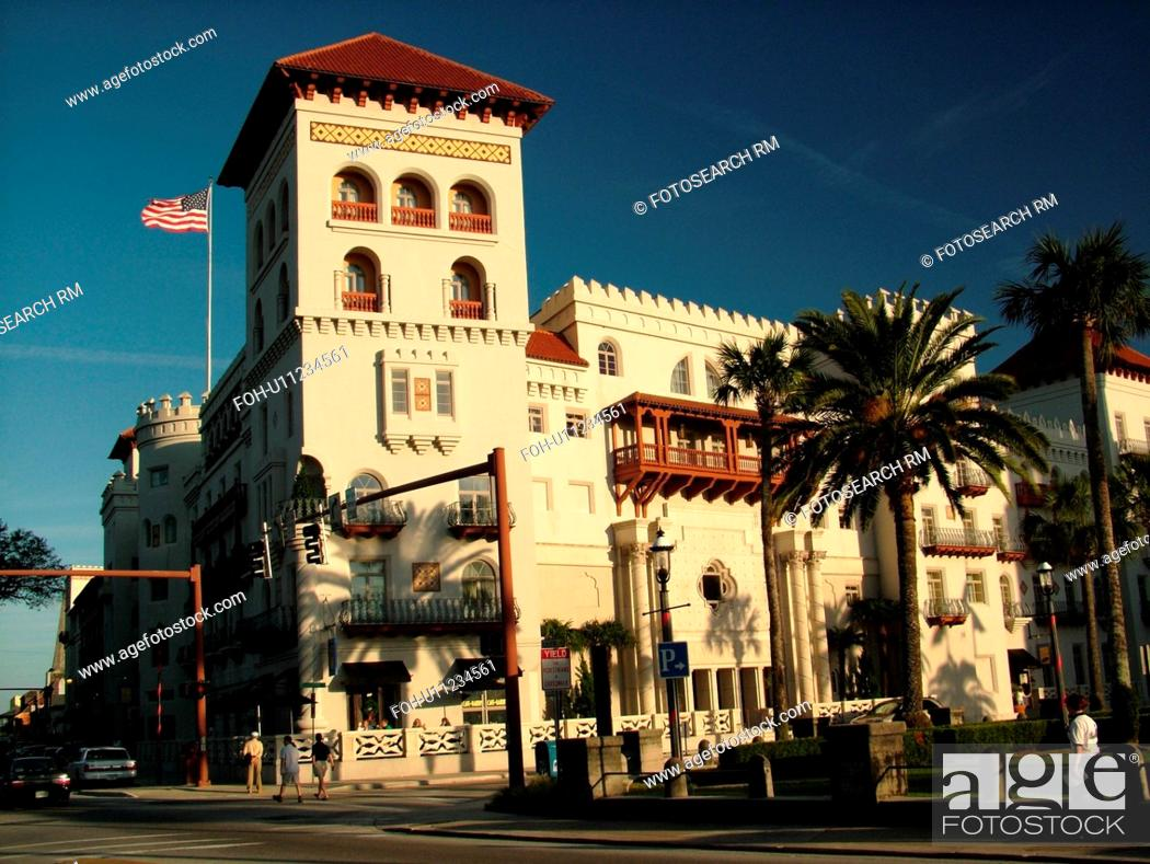St Augustine Fl Florida The Old City The Cordoba Hotel
