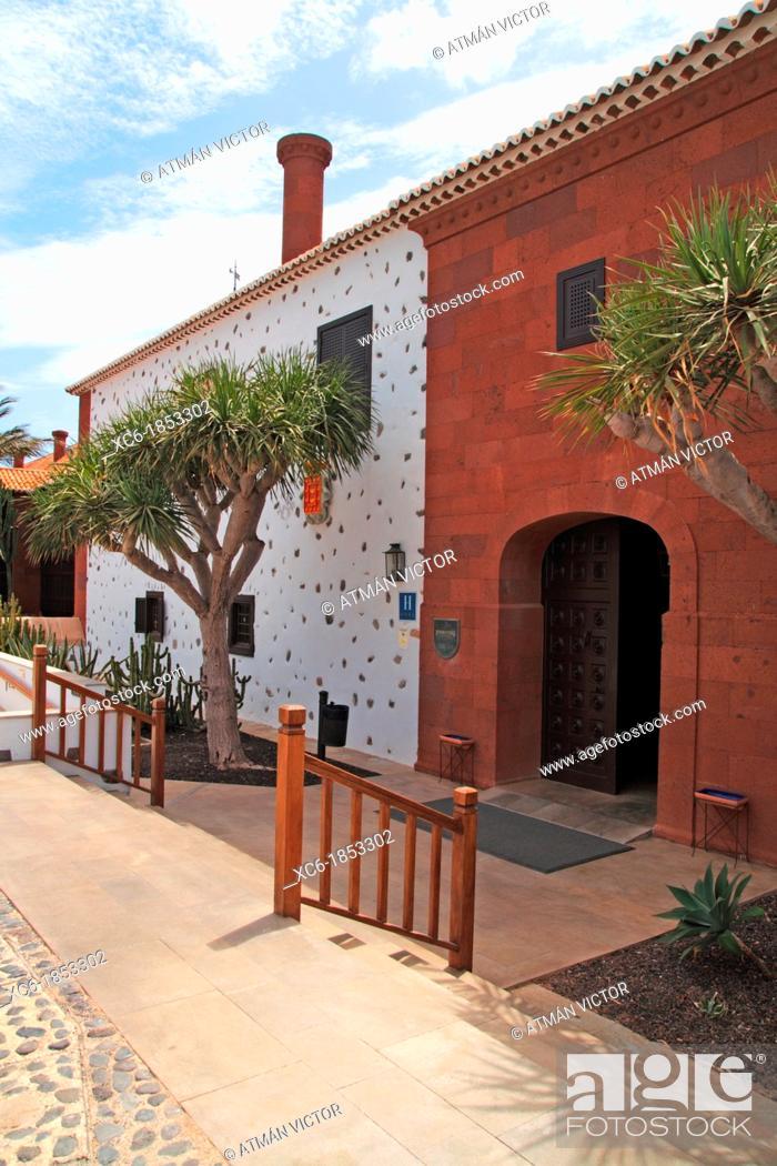 Parador Hotel In La Gomera Island Spain Stock Photo