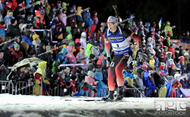 Marte Olsbu Roiseland Norway Competes In Pursuit Women