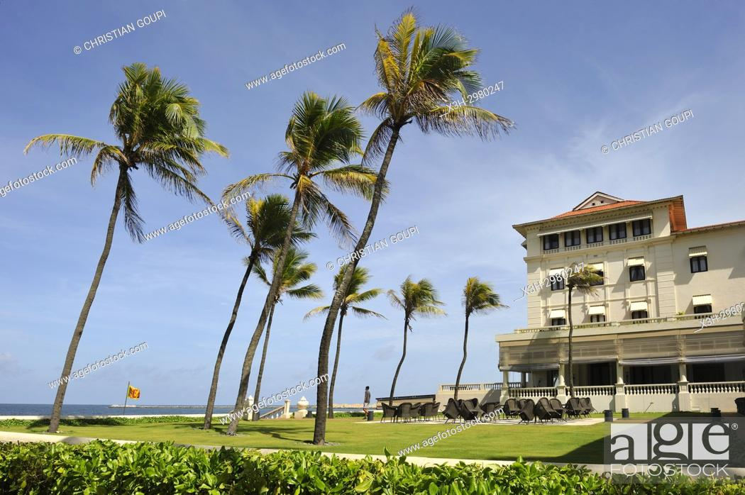 Galle Face Hotel Historic 5 Star Seafront Hotel In Colombo