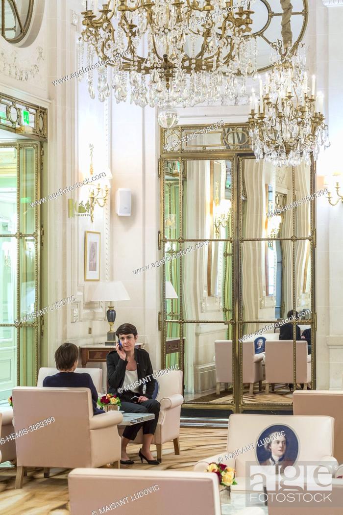 France Paris Rue De Rivoli Luxury Hotel Le Meurice