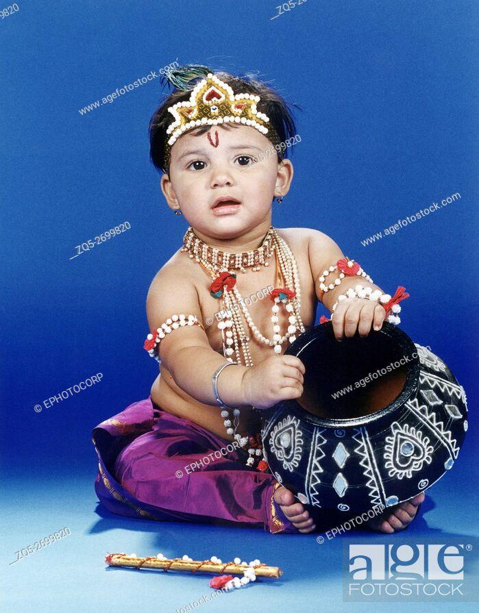 a little boy dressed