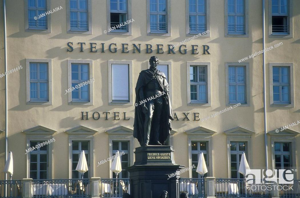 Germany Saxony Dresden Steigenberger Hotel De Saxe