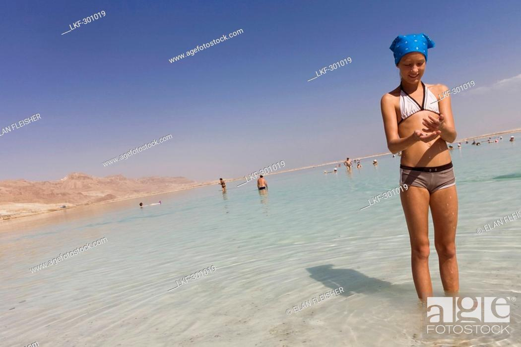 Dead Sea Standing