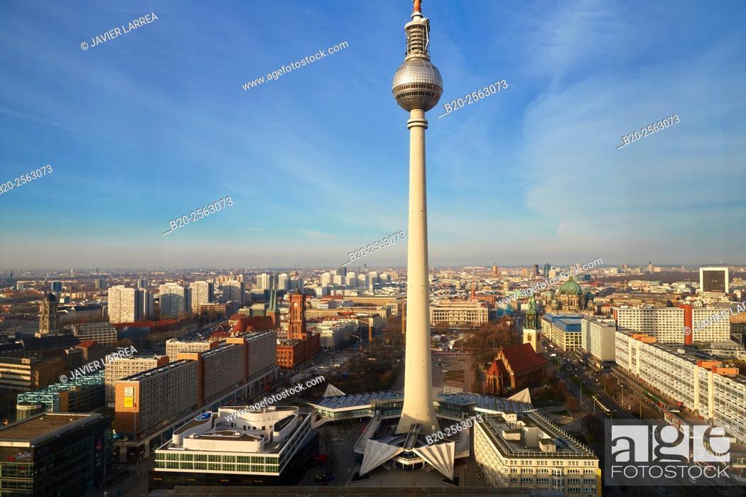 television tower alexanderplatz berlin