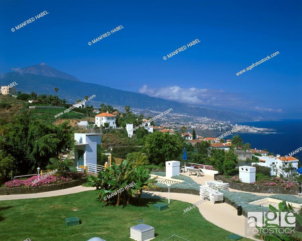 Spain Canaries Island Tenerife Coast Santa Ursula Hotel