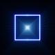 Glow Blue Light Corridor
