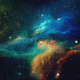 Space Nebulae Backgrounds Pack