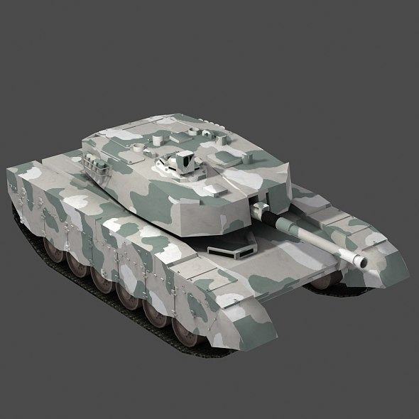 Olifant Mk1B Main Battle Tank - South Africa