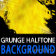 Grunge Halftone Background Loop