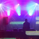Dj Playing Music Festival Led Screen 8
