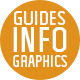 Guides info graphics