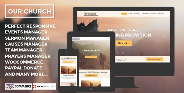 OurChurch - WordPress