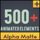 Shape Elements Quick Time with Alpha Channel