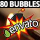 Comic Bubble Text