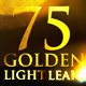 75 Golden Light Leaks Collection