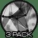 Black and White Plexus - 3 Pack